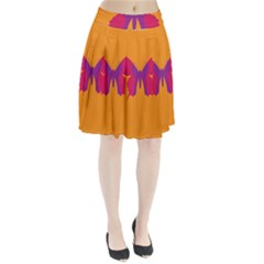 Butterfly Wings Insect Nature Pleated Skirt