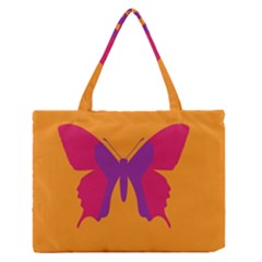 Butterfly Wings Insect Nature Zipper Medium Tote Bag