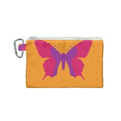 Butterfly Wings Insect Nature Canvas Cosmetic Bag (small)