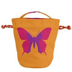 Butterfly Wings Insect Nature Drawstring Bucket Bag