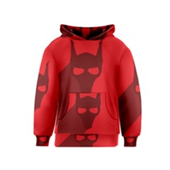 Skull Alien Species Red Character Kids  Pullover Hoodie