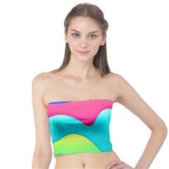 Lines Curves Colors Geometric Lines Tube Top