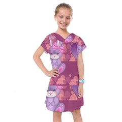Illustration Love Celebration Kids  Drop Waist Dress