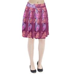 Illustration Love Celebration Pleated Skirt