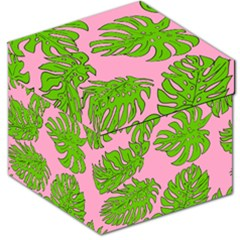 Leaves Tropical Plant Green Garden Storage Stool 12