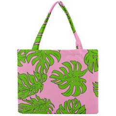 Leaves Tropical Plant Green Garden Mini Tote Bag