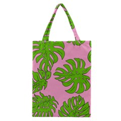 Leaves Tropical Plant Green Garden Classic Tote Bag