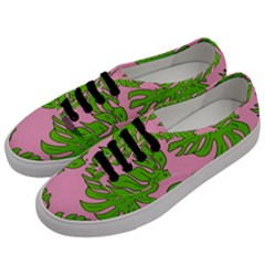 Leaves Tropical Plant Green Garden Men s Classic Low Top Sneakers by Nexatart