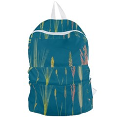 Grass Grasses Blade Of Grass Foldable Lightweight Backpack