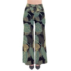 Autumn Fallen Leaves Dried Leaves So Vintage Palazzo Pants