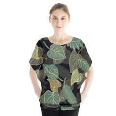 Autumn Fallen Leaves Dried Leaves Blouse