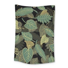 Autumn Fallen Leaves Dried Leaves Small Tapestry