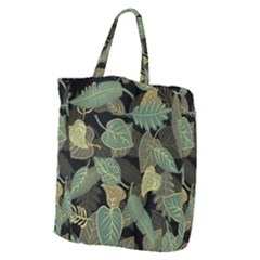 Autumn Fallen Leaves Dried Leaves Giant Grocery Tote
