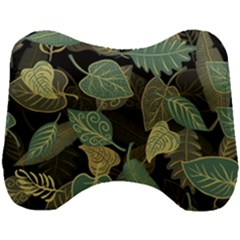 Autumn Fallen Leaves Dried Leaves Head Support Cushion