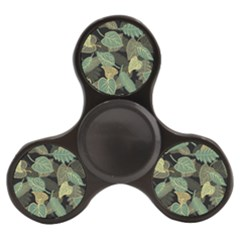 Autumn Fallen Leaves Dried Leaves Finger Spinner by Nexatart