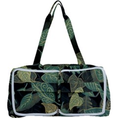 Autumn Fallen Leaves Dried Leaves Multi Function Bag
