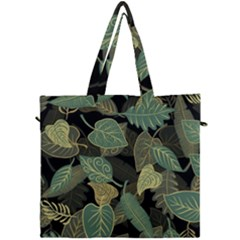 Autumn Fallen Leaves Dried Leaves Canvas Travel Bag
