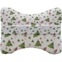 Christmas Santa Claus Decoration Velour Seat Head Rest Cushion View2