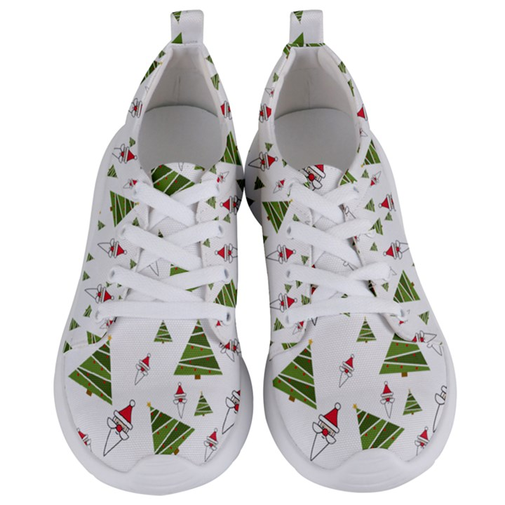 Christmas Santa Claus Decoration Women s Lightweight Sports Shoes