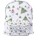 Christmas Santa Claus Decoration Giant Full Print Backpack View1