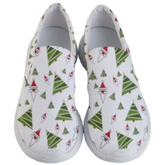 Christmas Santa Claus Decoration Women s Lightweight Slip Ons