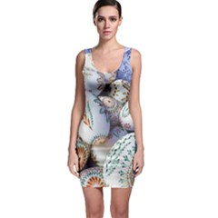 Model Color Traditional Bodycon Dress