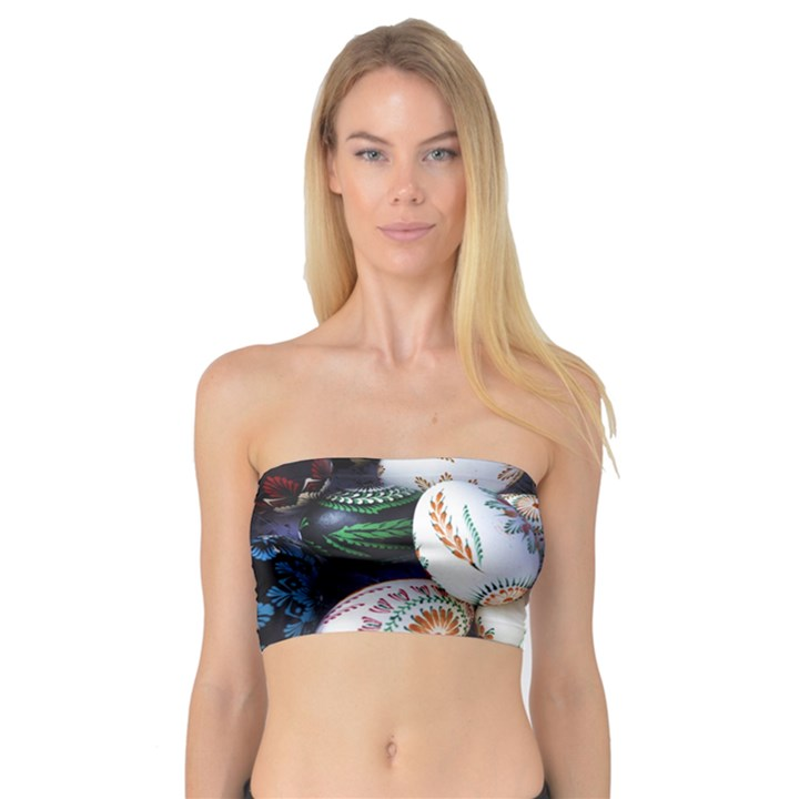 Model Color Traditional Bandeau Top