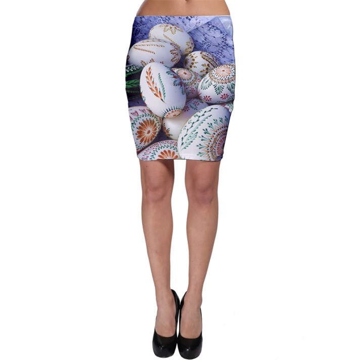 Model Color Traditional Bodycon Skirt