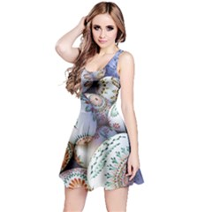 Model Color Traditional Reversible Sleeveless Dress