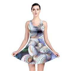 Model Color Traditional Reversible Skater Dress by Nexatart