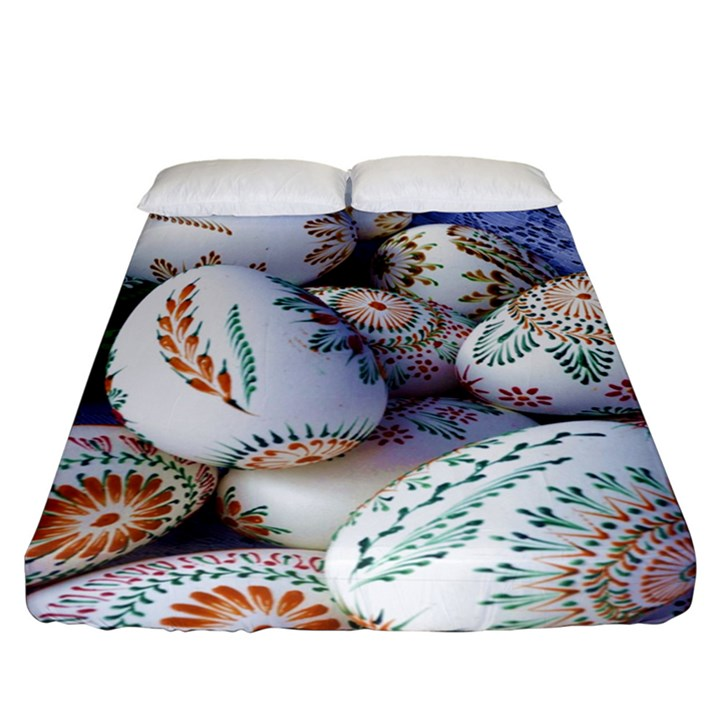 Model Color Traditional Fitted Sheet (California King Size)
