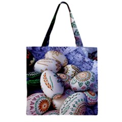 Model Color Traditional Zipper Grocery Tote Bag