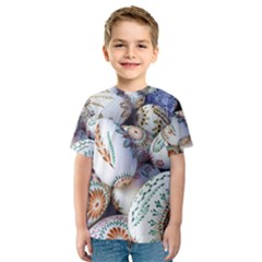 Model Color Traditional Kids  Sport Mesh Tee