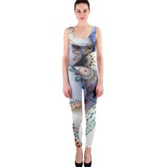 Model Color Traditional One Piece Catsuit by Nexatart