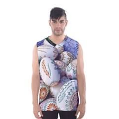 Model Color Traditional Men s Basketball Tank Top
