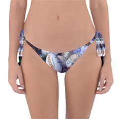 Model Color Traditional Reversible Bikini Bottom by Nexatart