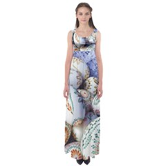 Model Color Traditional Empire Waist Maxi Dress