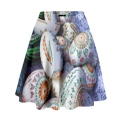 Model Color Traditional High Waist Skirt by Nexatart