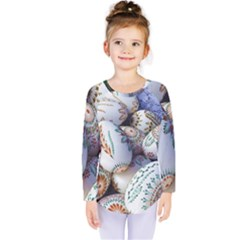 Model Color Traditional Kids  Long Sleeve Tee