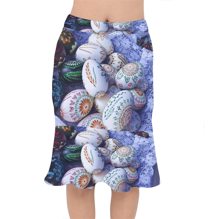 Model Color Traditional Mermaid Skirt