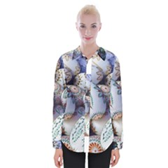 Model Color Traditional Womens Long Sleeve Shirt