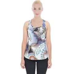 Model Color Traditional Piece Up Tank Top