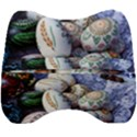 Model Color Traditional Velour Head Support Cushion View2