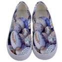 Model Color Traditional Kids  Canvas Slip Ons View1