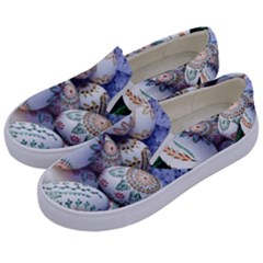 Model Color Traditional Kids  Canvas Slip Ons