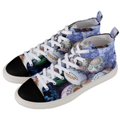 Model Color Traditional Men s Mid-Top Canvas Sneakers