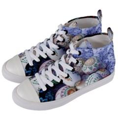 Model Color Traditional Women s Mid-Top Canvas Sneakers