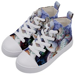 Model Color Traditional Kid s Mid-Top Canvas Sneakers