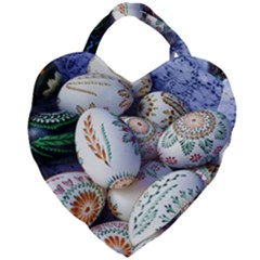 Model Color Traditional Giant Heart Shaped Tote