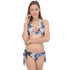 Model Color Traditional Tie It Up Bikini Set